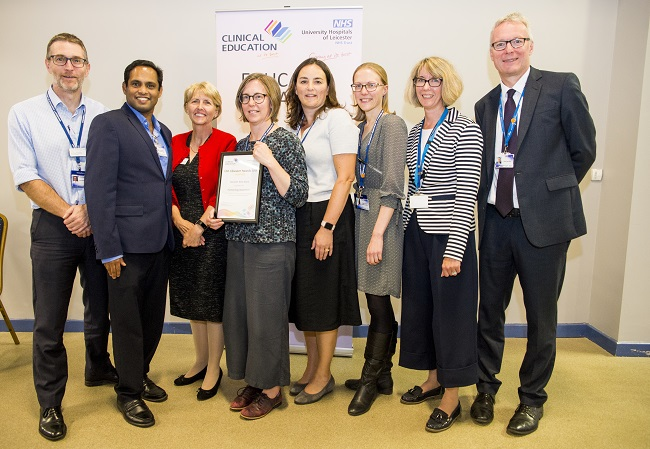 Leicester's Hospitals recognises excellence in first ever Medical Educator Awards